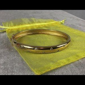 Jewelry - 💎 925 Vermeil CZ Bangle Bracelet